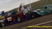 Al Capone au tracteur pulling de Bouconville